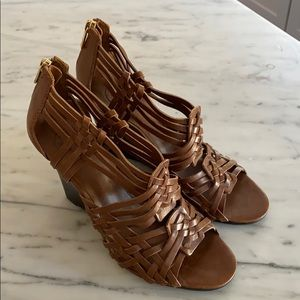 NWOB Tory Burch Braided Wedges Size 10